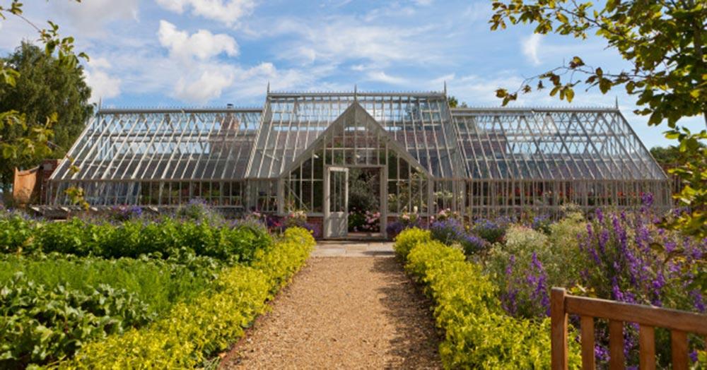 Bespoke British-made glasshouses from Alitex USA