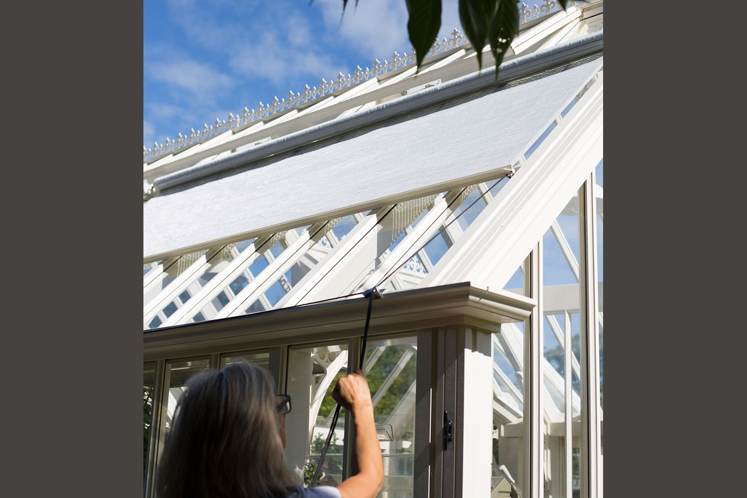 Operating shades (Alitex greenhouse accessories)
