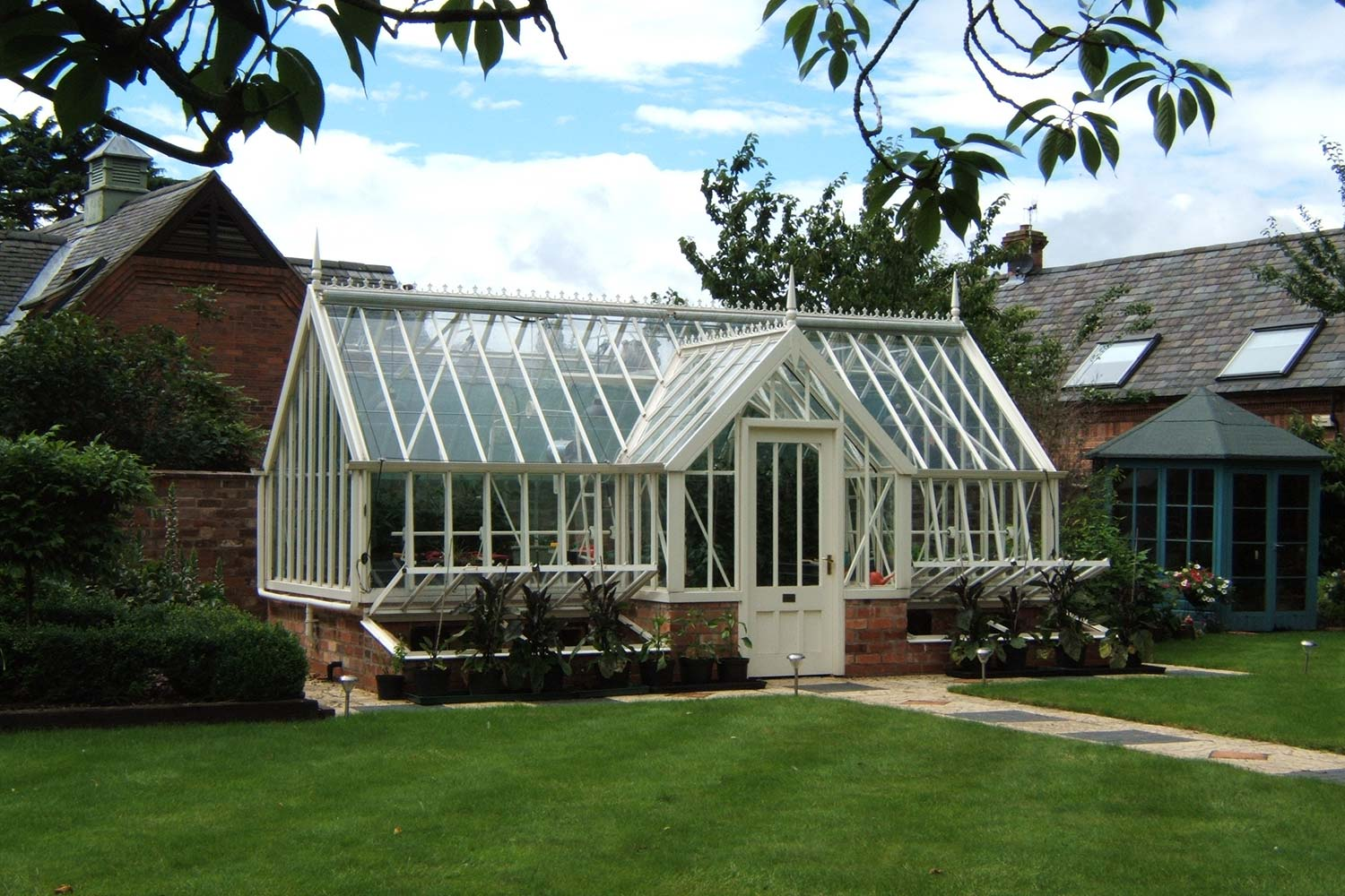 The Augusta Greenhouse from the Alitex Kew Greenhouse Collection