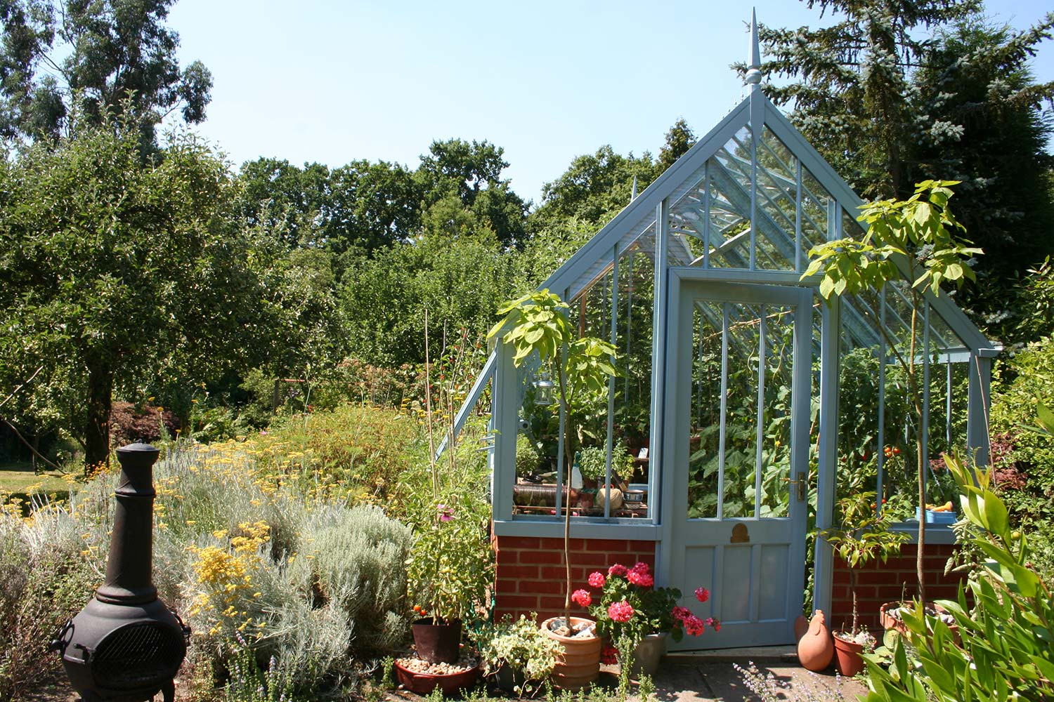 The Burton Greenhouse from the Alitex Kew Greenhouse Collection
