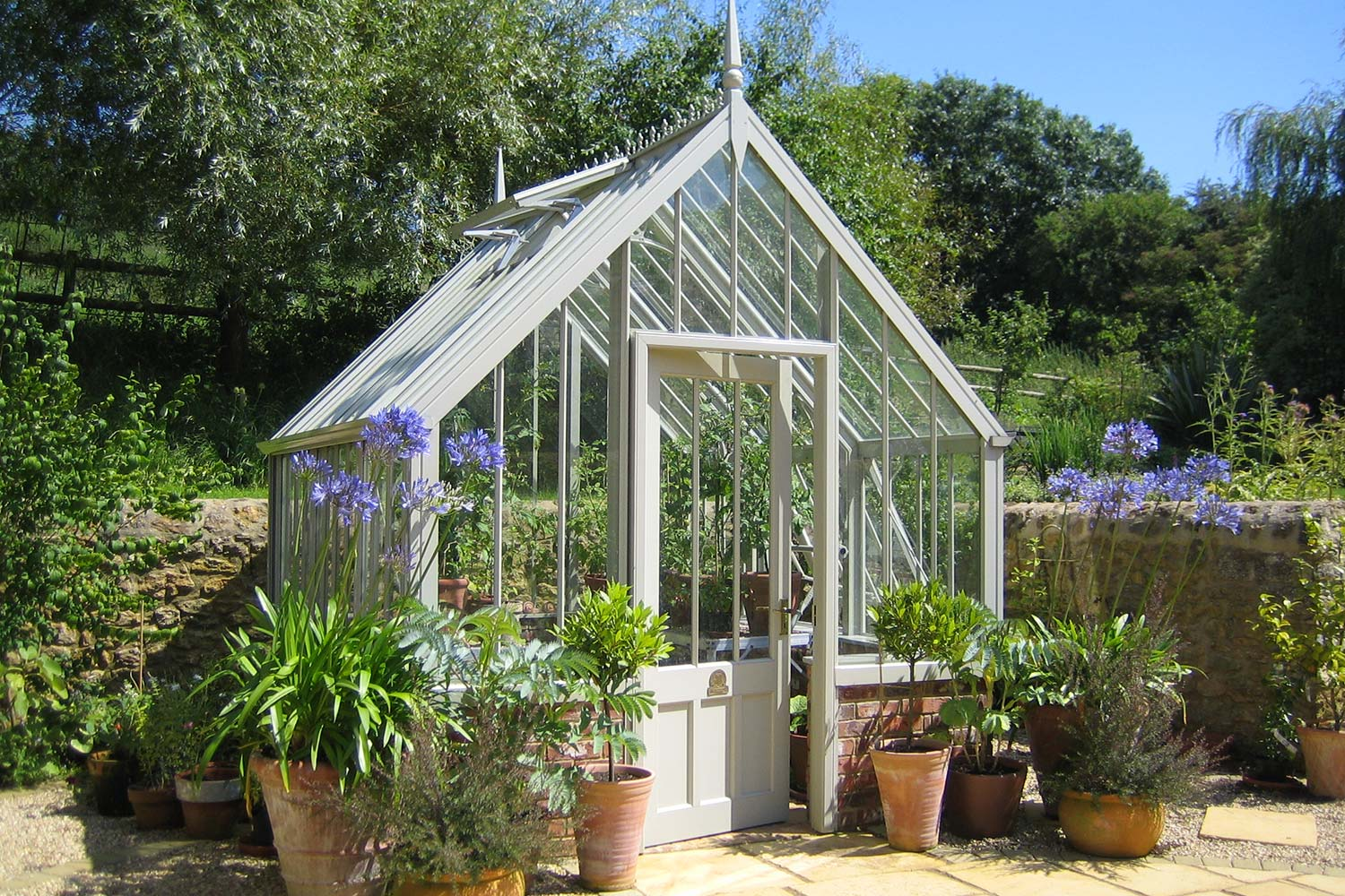 The Capel Greenhouse from the Alitex Kew Greenhouse Collection