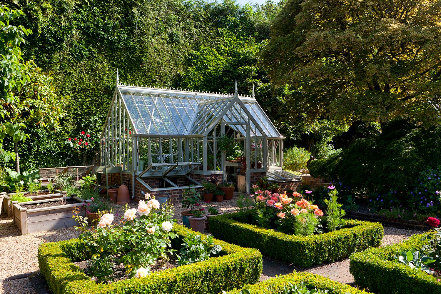 The Fortrey Greenhouse from the Alitex Kew Greenhouse Collection