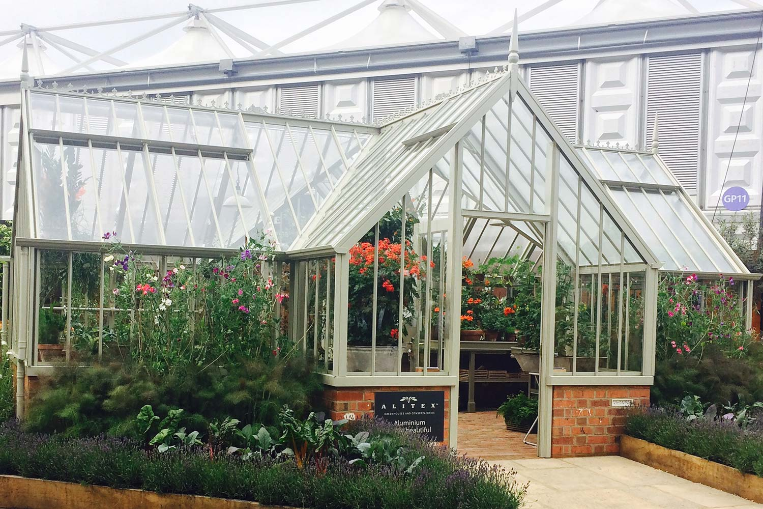 The Masson Greenhouse from the Alitex Kew Greenhouse Collection