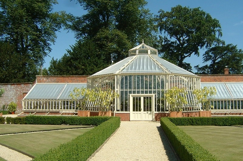 Lord Heseltine's Greenhouse in England