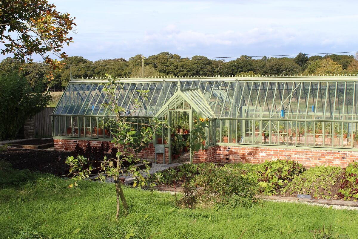 Kitchen garden - The Greenhouse at THE PIG Hotel